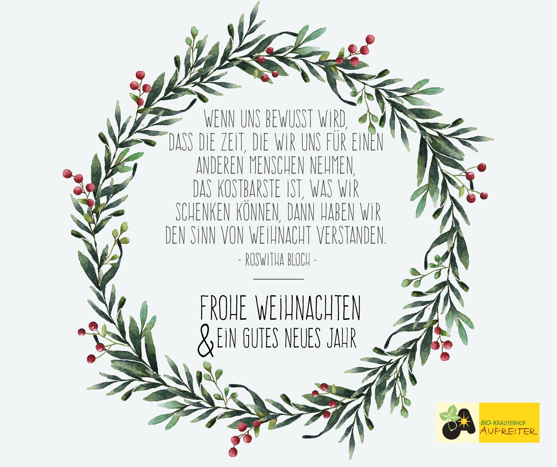 Email Frohe Weihnachten.Frohe Weihnachten Kräuterhof Aufreiter